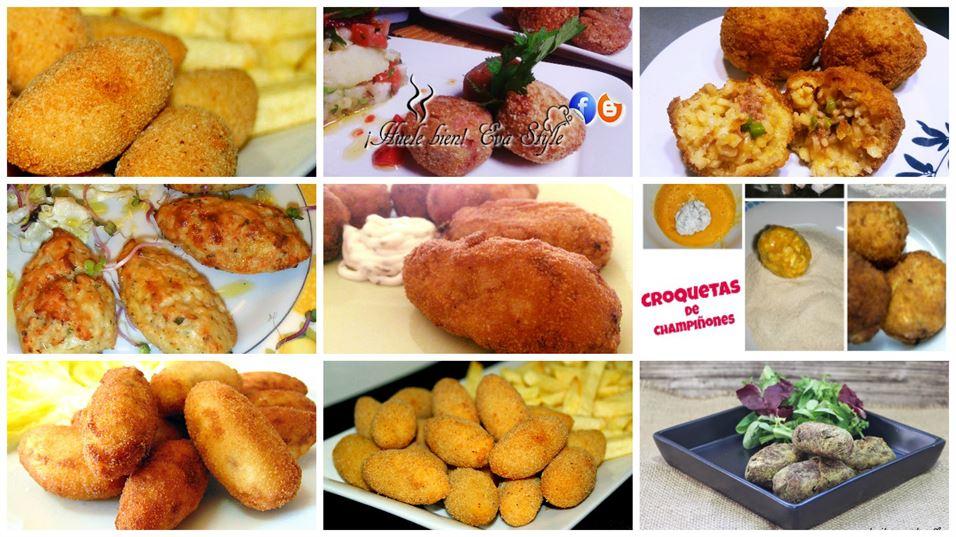 8 recetas de croquetas para todos los gustos