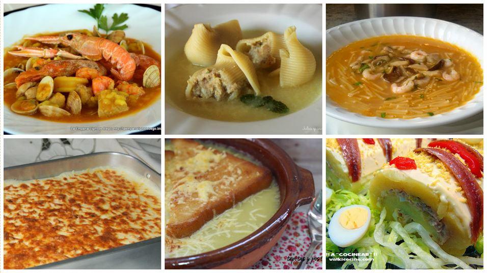 Recetas de primeros platos para días de fiesta