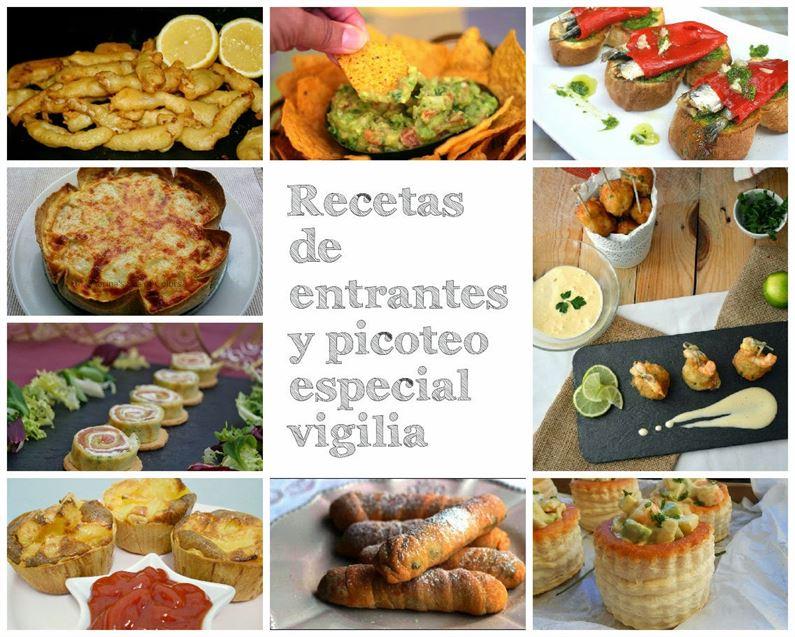 Recetas de entrantes y picoteo especial vigilia anna - Cena de picoteo en casa ...