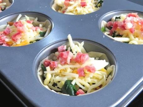 Tartaletas de espinacas