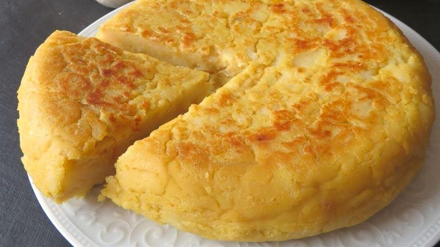 Cómo hacer tortilla de patatas SIN HUEVO