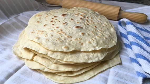 tortitas de harina