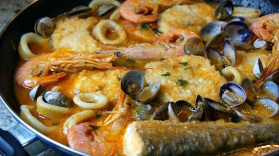 Zarzuela de pescado anna recetas f ciles for Cocinar pescado para ninos